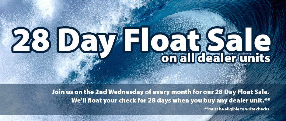 28 day float sale